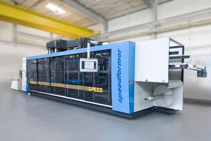 KIEFEL presents the innovative Pressure Forming Machine KMD 78