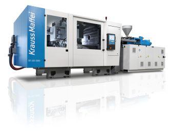 World premiere of KraussMaffei's new GX series injection molding machines