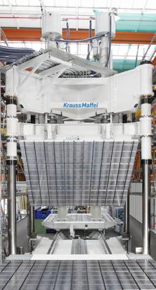 Long fiber RIM process delivers massive lightweight roof components