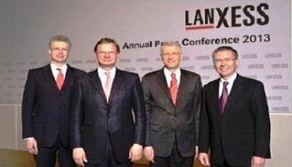 Lanxess confirms record growth in 2012
