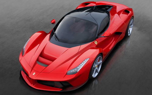 Limited edition LaFerrari unveiled a