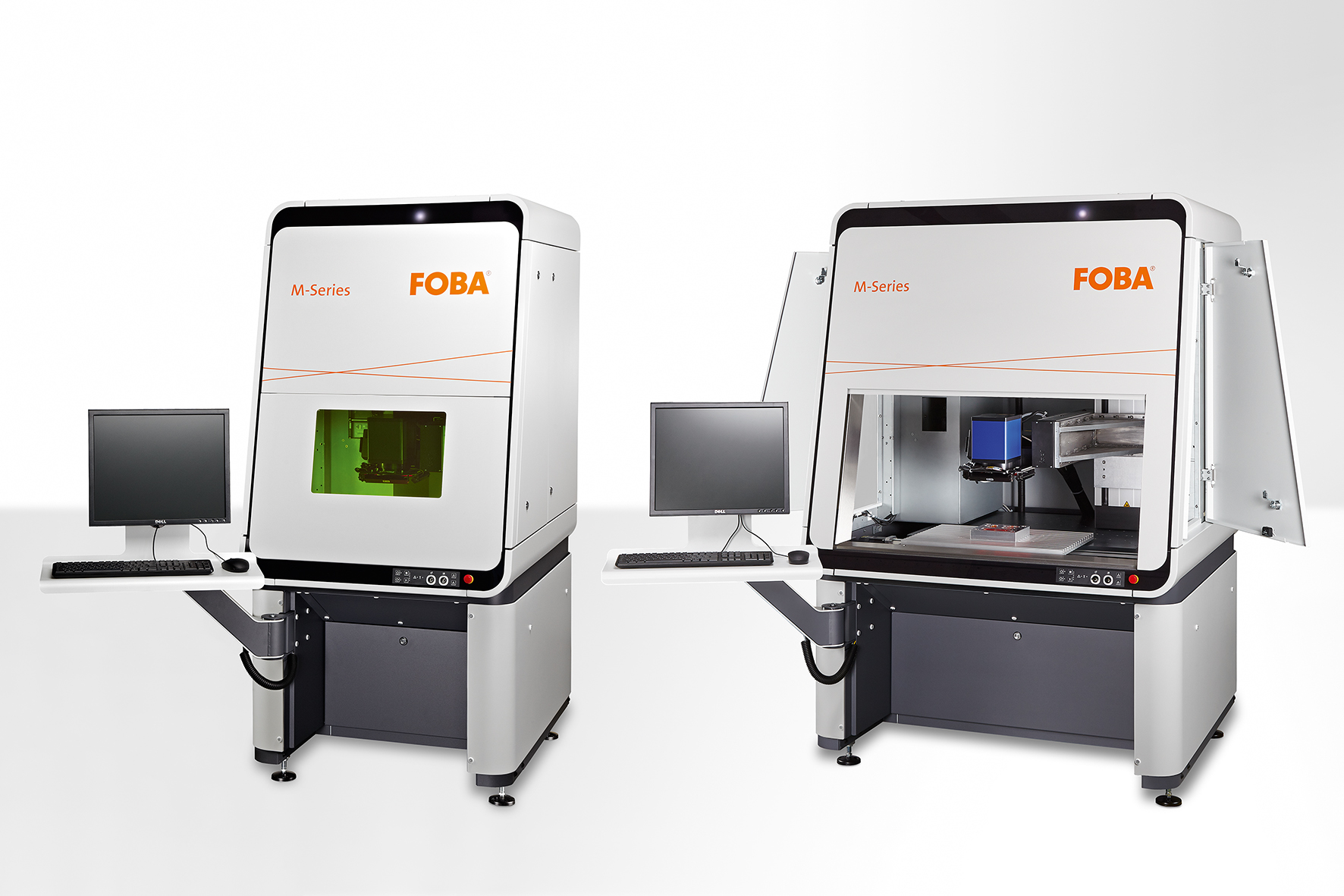 New generation of powerful, precise laser marking workstations