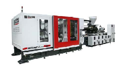 Milacron Displays Industry's Largest Co-Injection Servo Hybrid Machine at Open House