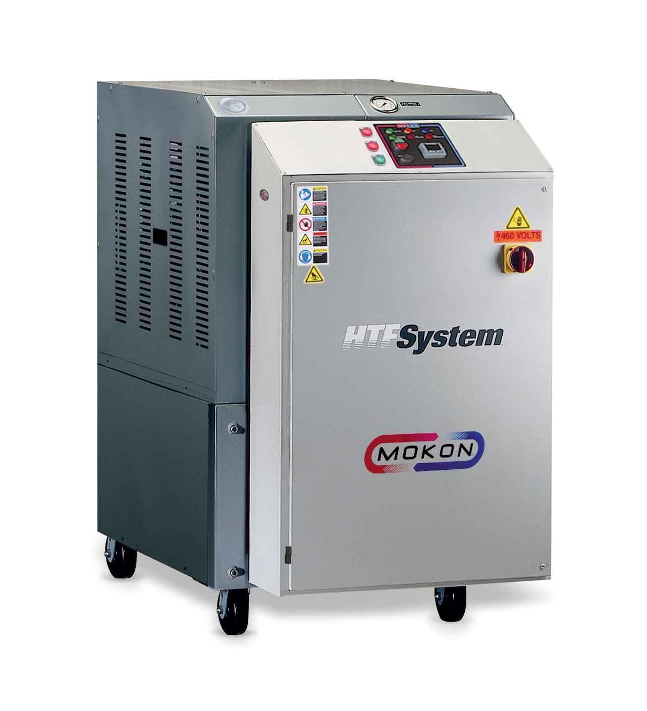 Mokon Introduces Positive and Negative Pressure Heat Transfer Oil System