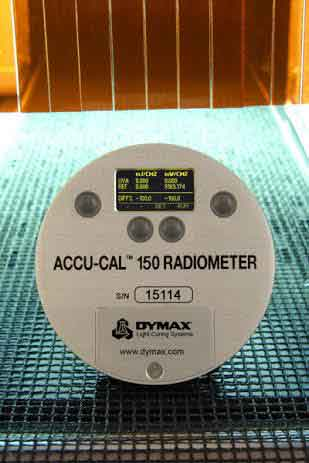 New radiometer from Intertronics simplifies validating and monitoring of UV-curing processes
