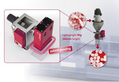 Pelletron develops new lightweight DeDeuster C-20 for injection molding