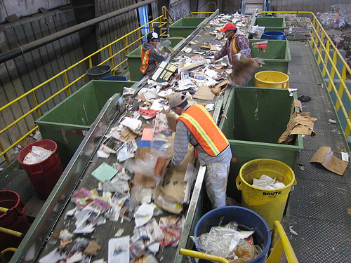 Plastic recycling bodies registered rapid growth in 2013