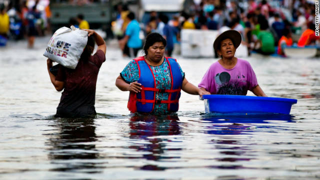 Players in Thailand concerned about heavy floods