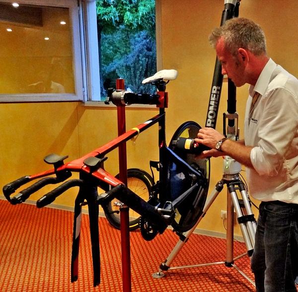 ROMER Bike Measurement System premieres at Tour de France