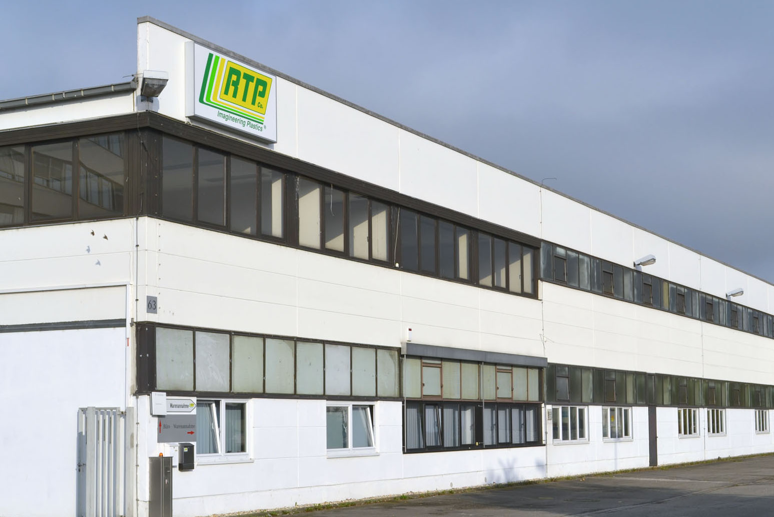 RTP COMPANY COMPLETES FIRST PHASE OF EXPANSION AT ITS LADENBURG, GERMANY PLANT