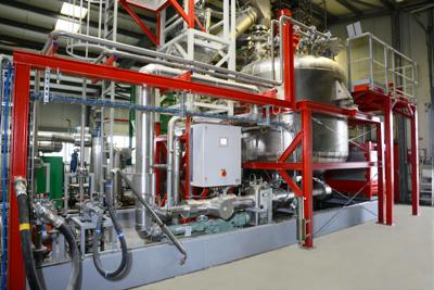 RAMPF Ecosystems constructed world´s first industrial plant for manufacturing polyols from PU flexible foam waste