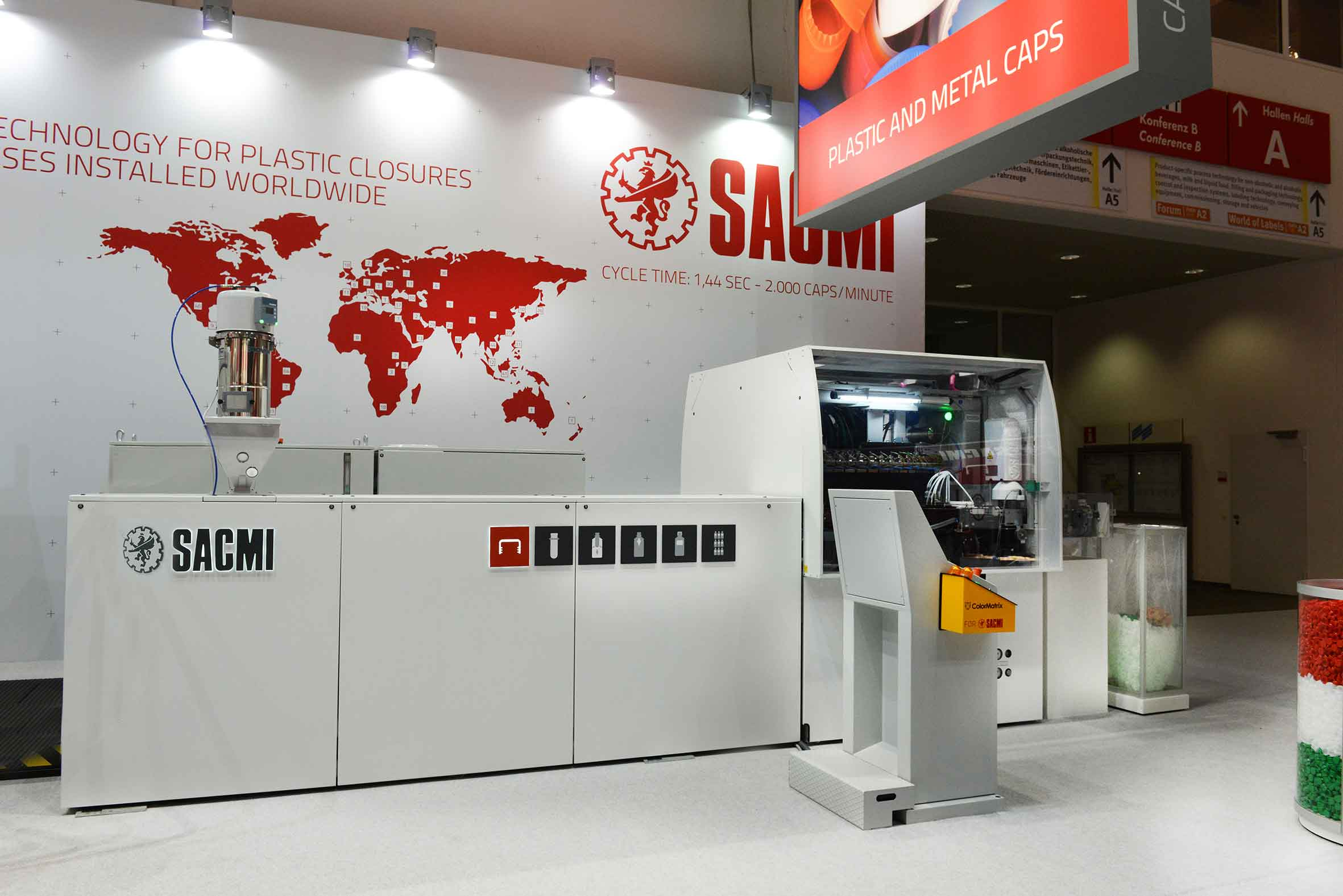 Sacmi-made labellers and presses to take centre-stage at CBST