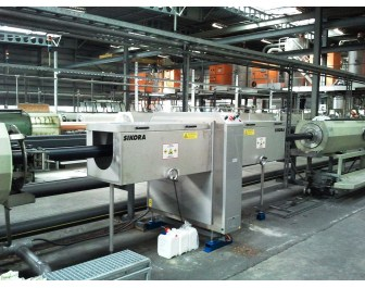 Sikora's X-RAY 6300 installed by Belgium gas and water tube producer