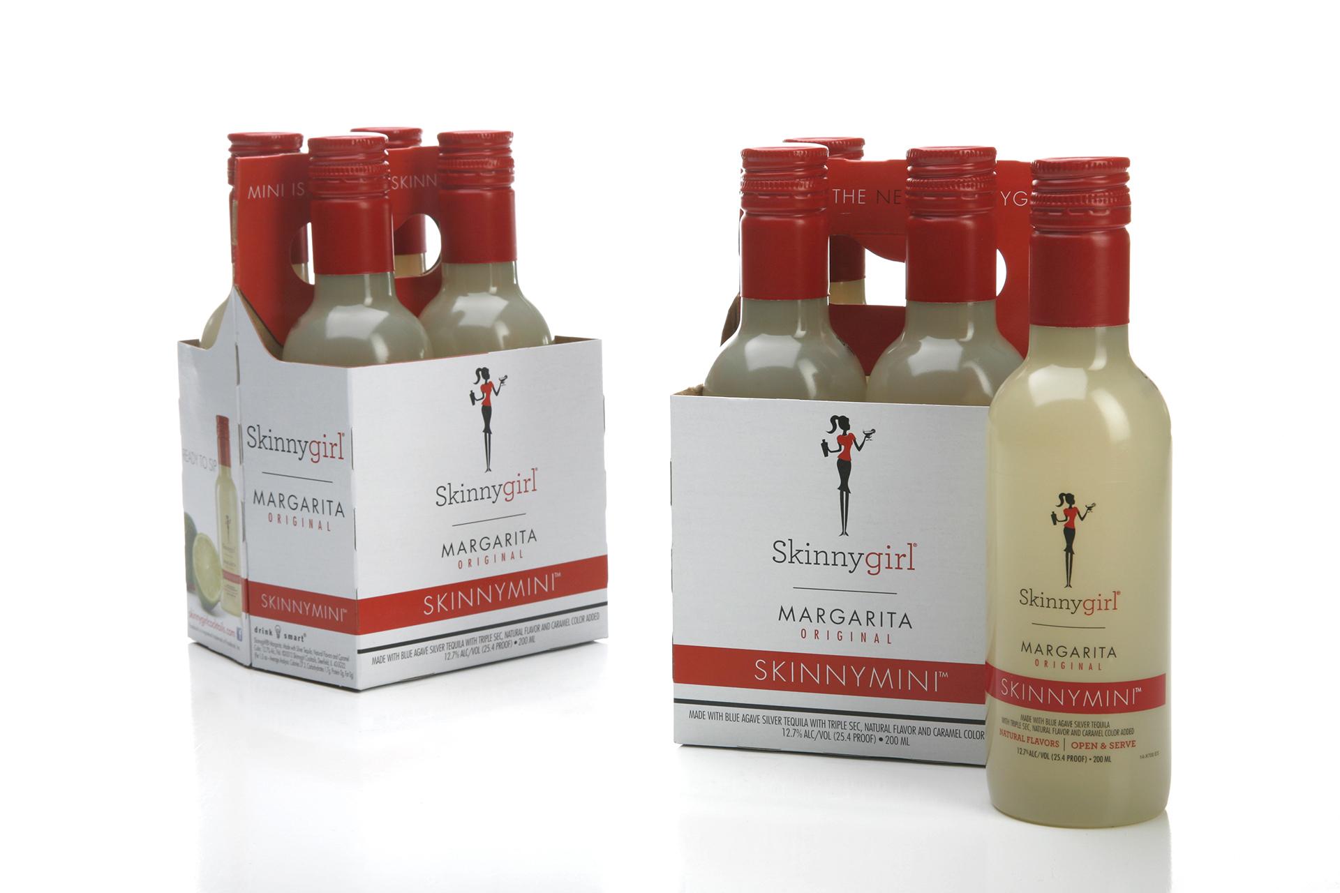 Extends Skinnygirl Margarita Brand to 200ml PET Bottles