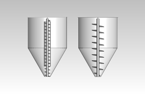 Process adaptation for existing silo mixer