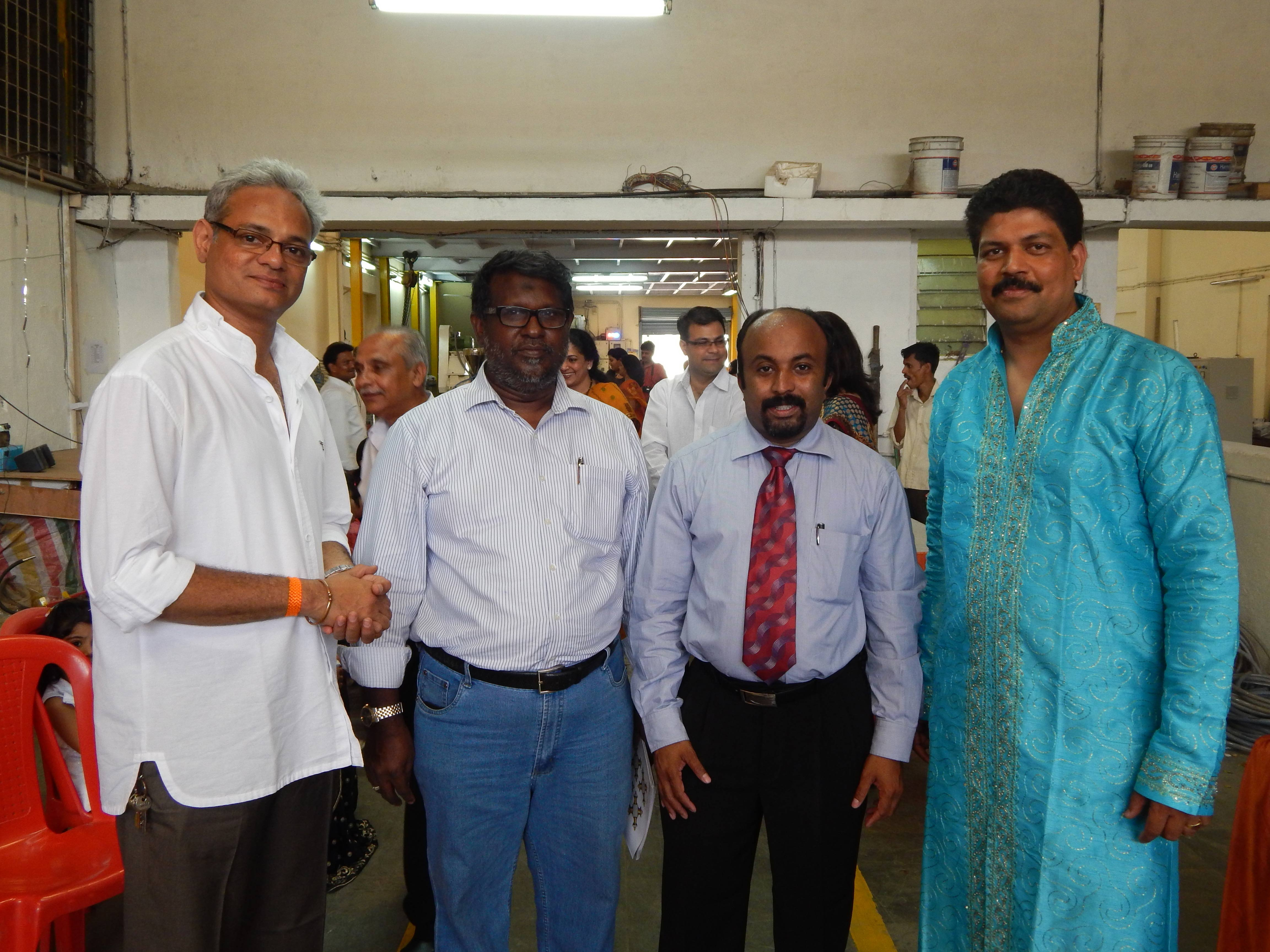 SMART'S GRAND OPENING OF PLASTICS BLOW MOULDING MANUFACTURING