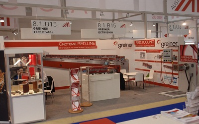 Success with centralized capabilities at Interplastica in Moscow