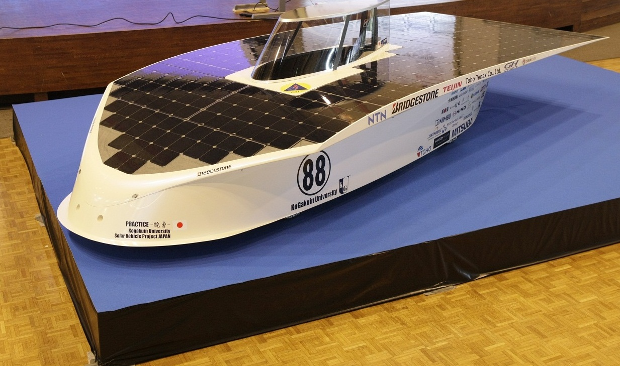Teijin Teams with Kogakuin Univ. for World Solar Challenge