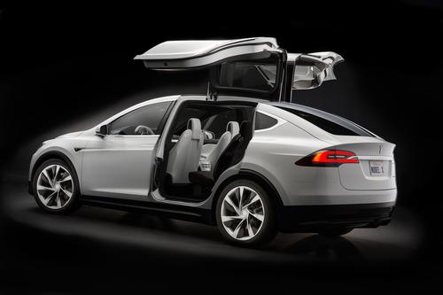 Tesla's Model X Blends Electricity & Function