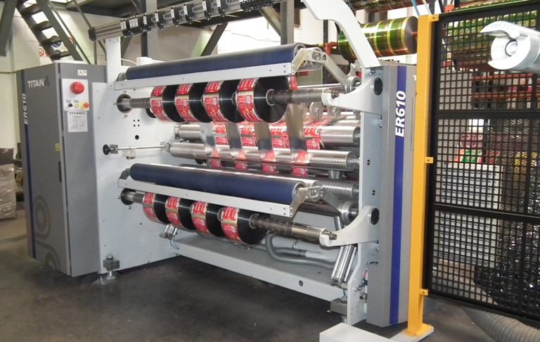 M-Tech Plastics (South Africa) praises performance of new Titan ER610 compact slitter rewinder