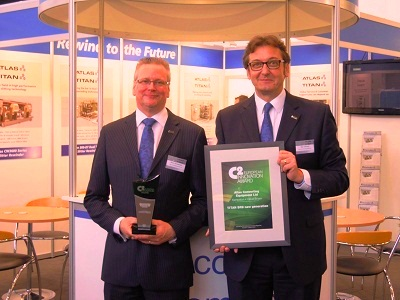 Titan SR9 Series slitter rewinder wins C2 European Converting Innovation Award 2013