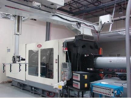 Venture Plastics Expands Facility; 950ton Hybrid Press