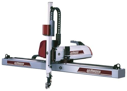 Heavier hitting from WITTMANN's revamped W831 robot