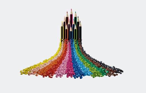 Kraiburg TPE in WOPEX color pencils from Staedtler