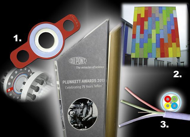 Winners of the DuPont Plunkett Awards 2013 EMEA