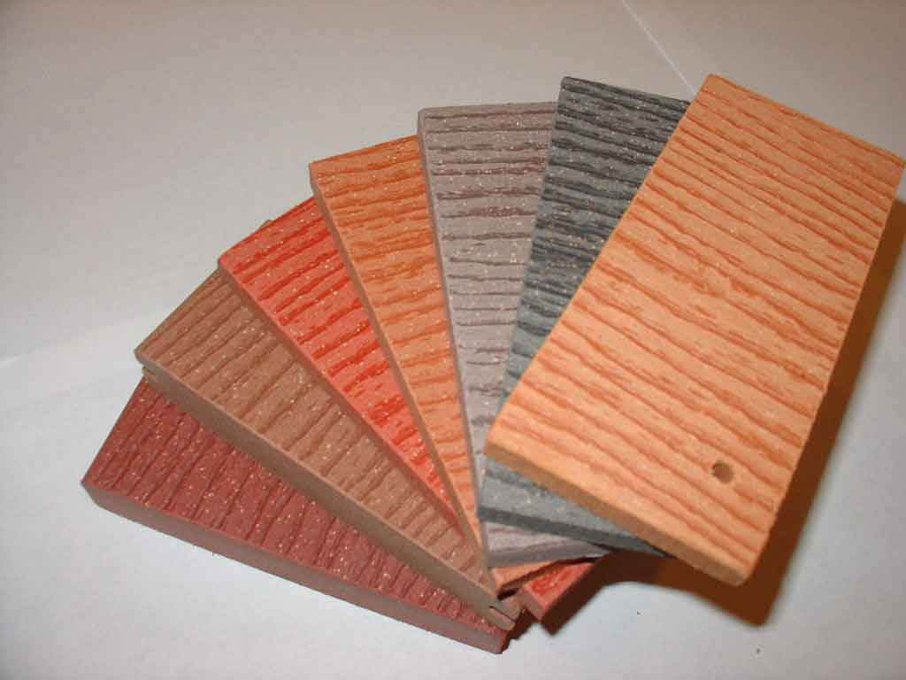 Wood Plastic Composite with PLA