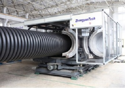 Zhongyun Group to present its extrusion systems for corrugated pipes
