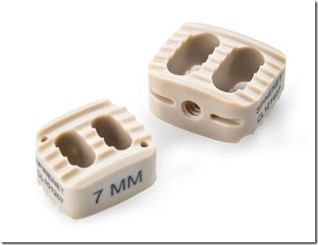 EEK replaces titanium in cervical implants