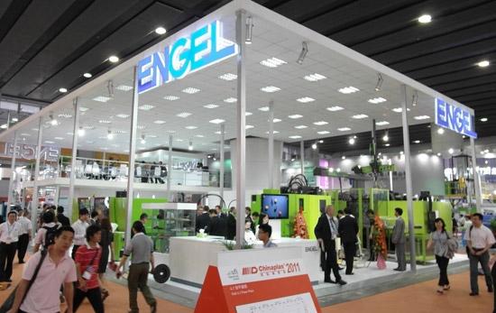 ENGEL at Chinaplas 2012 in Shanghai