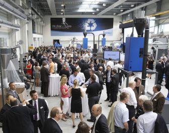 Erema opens new 5 million euros customer center at Austria headquarters