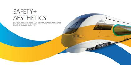 SABIC EXHIBITS EXPANDED THERMOPLASTICS PORTFOLIO FOR RAILWAY INTERIORS AT INNOTRANS
