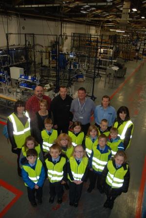 Automotive Supplier Visit Fuels Interest in Engineering