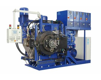 Roll-ex gear extruders allow gentile handling of rubber materials