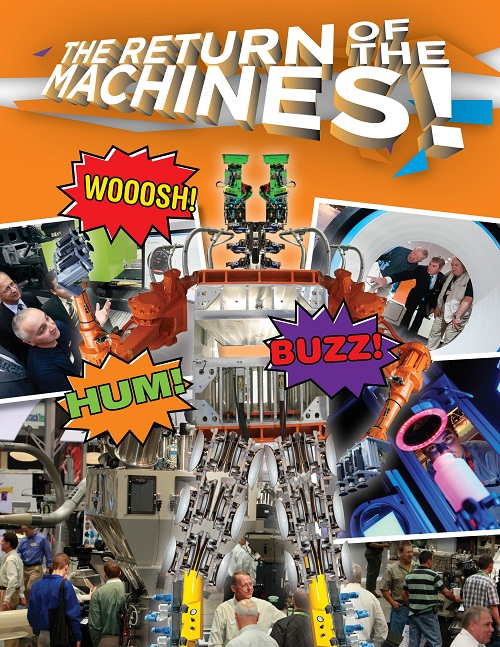 MACHINERY COMPANIES WILL BE EXHIBITING—AND OPERATING—LOTS MORE EQUIPMENT AT NPE2012 THAN IN 2009
