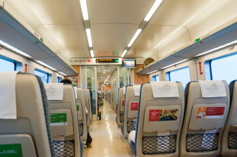 SABIC thermoplastic solution for rail seating applications meets new fire safety standard