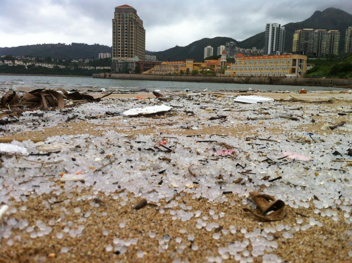 First-hand account of the Hong Kong plastic pellets clean u