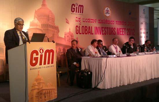 Global Investors Meet 2012 Held