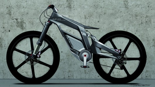 "Audi's Wörthersee e-bike concept features ""wheelie"" mode"